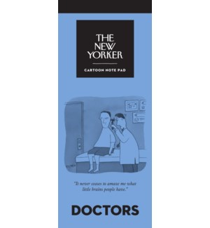 Doctors - New Yorker Notepad