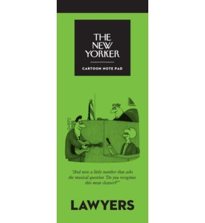 Lawyers - New Yorker Notepad