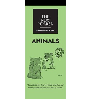 Animals - New Yorker Notepad