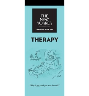 Therapy - New Yorker Notepad