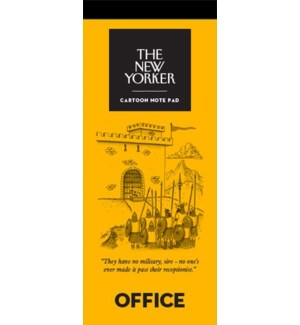 Office - New Yorker Notepad