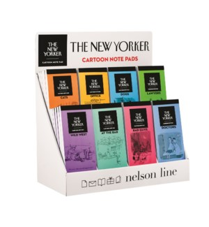 6X8 Designs - New Yorker Notepads