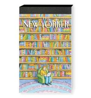 Laptop Library - Nyer Cover Notepad