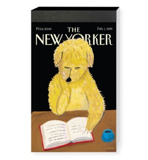 Dog Reading - Nyer Cover Notepad