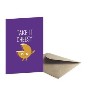 Gouda Bye Greeting Card|Ohh Deer
