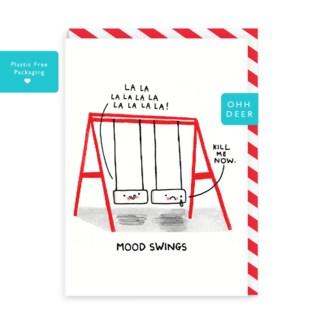 Mood Swings Greeting Card|Ohh Deer