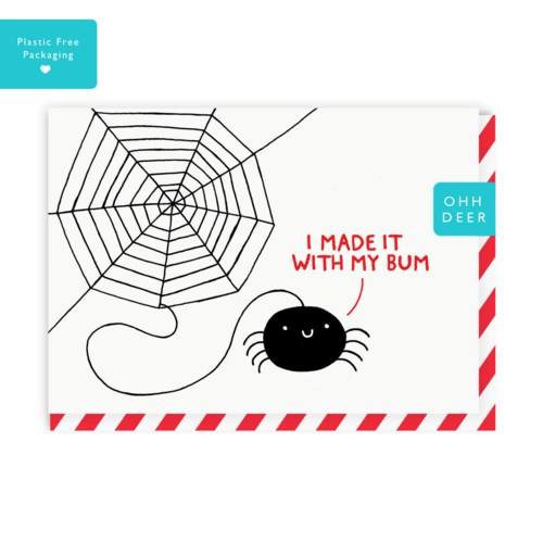 Spider Greeting Card|Ohh Deer