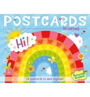 Rainbows Postcards - restock 5/17