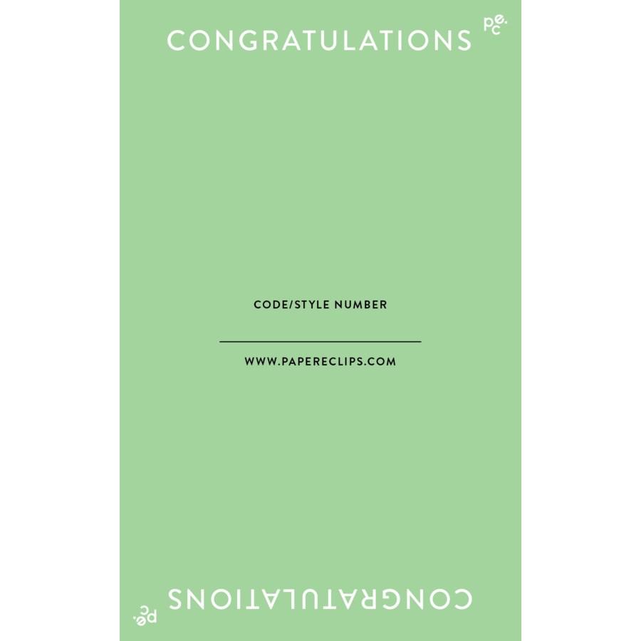 Header - Congratulations|Paper E. Clips