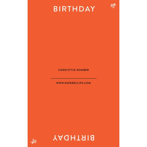 Header - Birthday|Paper E. Clips