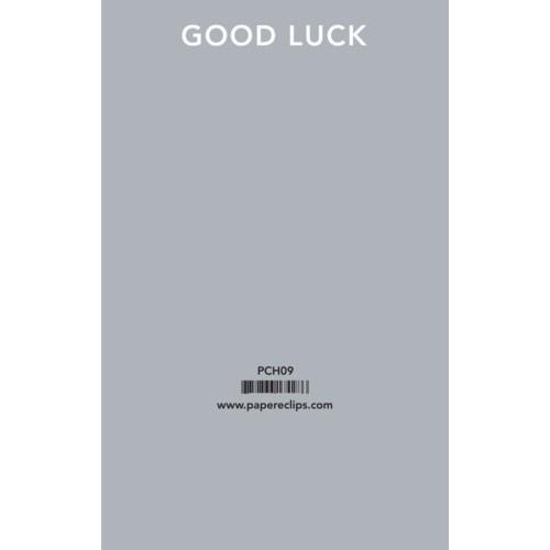 Header - Good Luck|Paper E. Clips