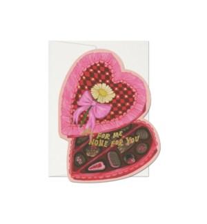 All For Me Die Cut Foil Valentine Boxed Set