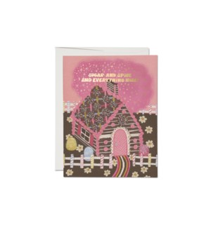 Gingerbread House FOIL Holiday boxed set