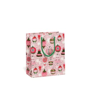 Retro Ornaments Holiday bag