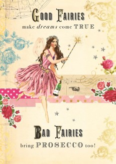 Bad Fairies Bring Prosecco 5x7|Pigment Productions