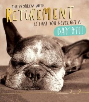 Retirement Dog 5x7|Pigment Productions