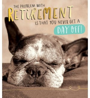Retirement Dog 5x7|Pigment Productions