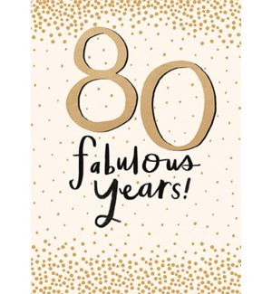 80 Fabulous Years|Pigment Productions