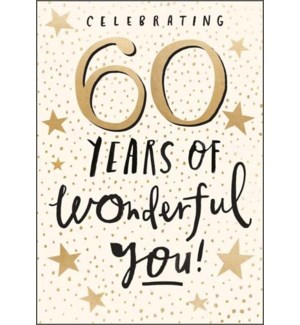 60 Years Of Wonderful You|Pigment Productions