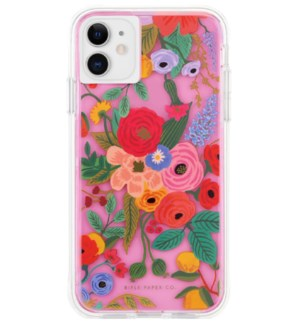 Clear Blush Garden Party iPhone 11 Case