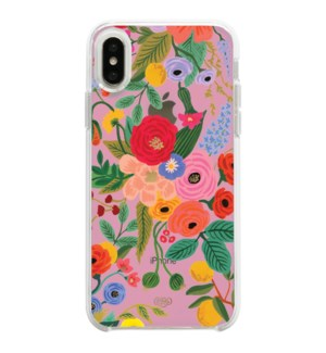 Clear Blush Garden Party iPhone XS Case