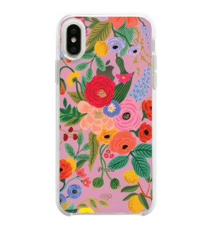 Clear Blush Garden Party iPhone XSM Case
