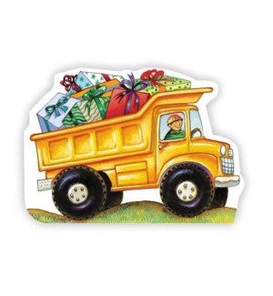 Dump Truck W/Presents (Sch|Peaceable Kingdom
