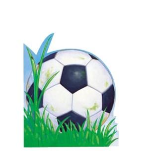 Soccerball Die-Cut (Woh)|Peaceable Kingdom