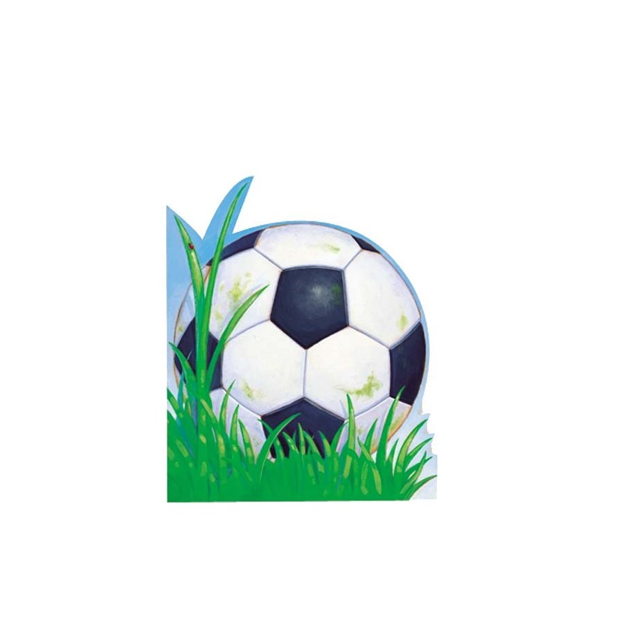 Soccerball Die-Cut (Woh)|Peaceable Kingdom