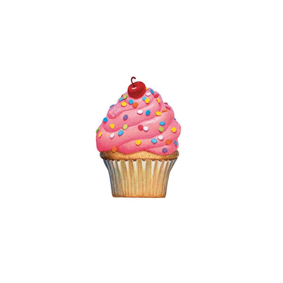 Cherry Cupcake Scratch & S|Peaceable Kingdom