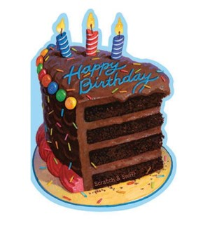 Chocolate Birthday Cake Sc|Peaceable Kingdom