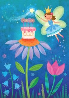 Fairy With Cake Glitter Ca|Peaceable Kingdom