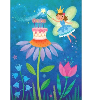 Fairy With Cake Glitter Ca|Peaceable Kingdom