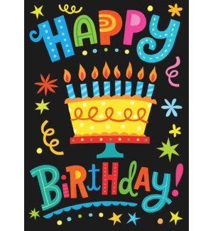 Happy Birthday Lettering|Peaceable Kingdom