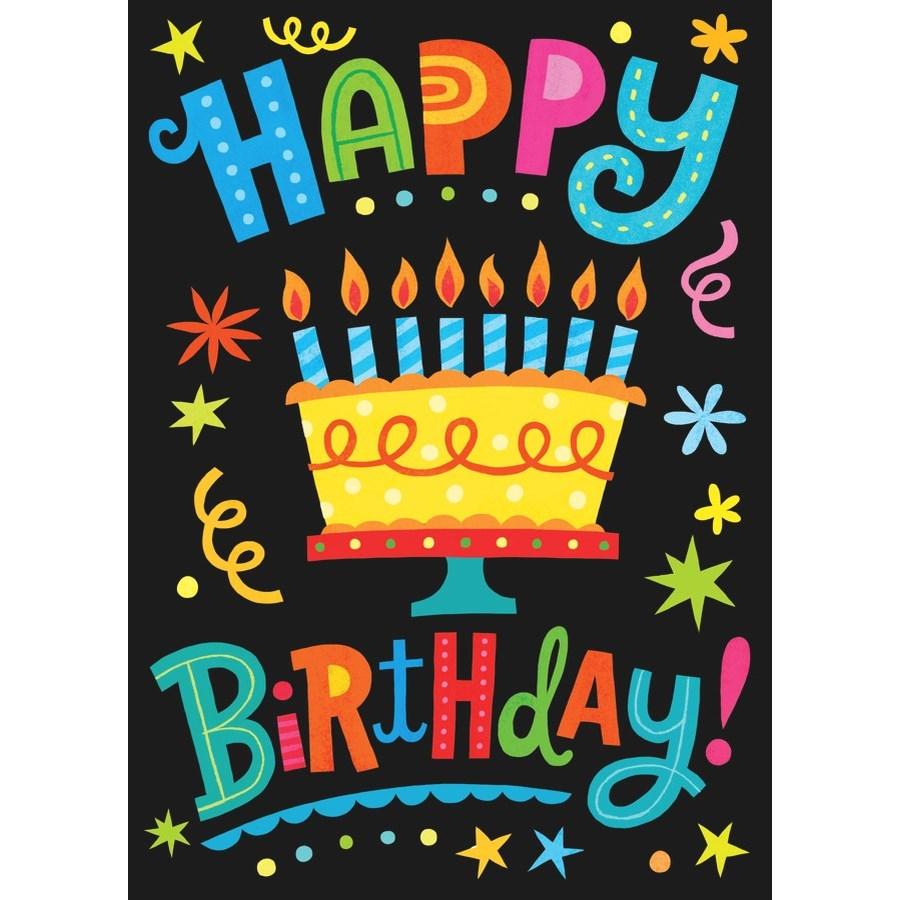 Happy Birthday Lettering|Peaceable Kingdom
