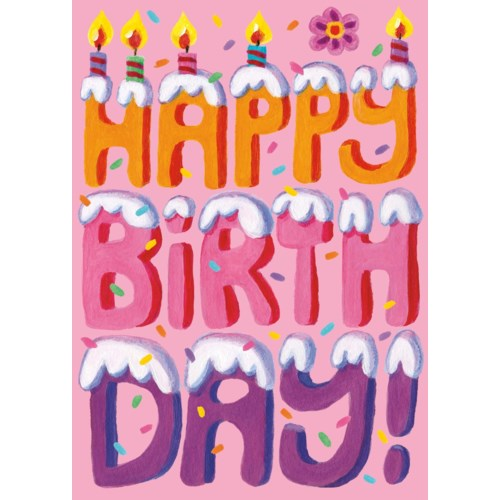 Happy Birthday Cake Letters Peaceable Kingdom