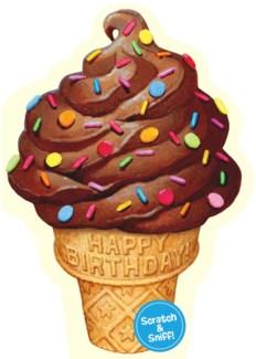 Chocolate Ice-Cream Cone|Peaceable Kingdom