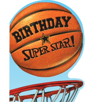 Birthday Basketball Die-Cut|Peaceable Kingdom