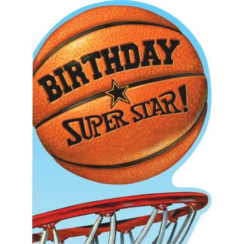 Birthday Basketball Die-Cut|Peaceable Kingdom