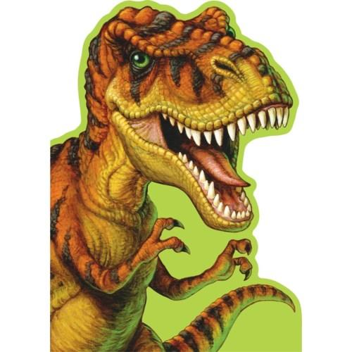 Ferocious T-Rex Die-Cut|Peaceable Kingdom