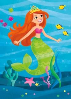 Mermaid Glitter|Peaceable Kingdom