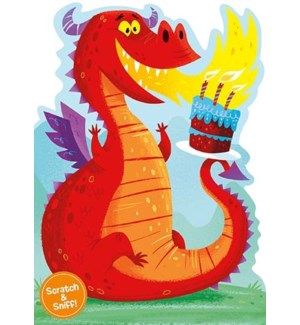 Fire Breathing Dragon Scratch|Peaceable Kingdom