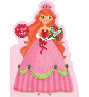 Strawberry Princess Scratch &|Peaceable Kingdom