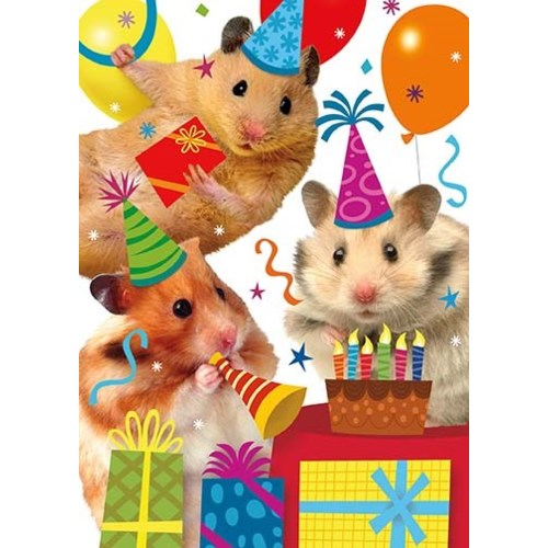 Hamster Party|Peaceable Kingdom