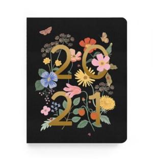 2021 Wild Garden Appointment Notebook Calendar