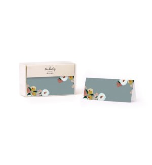 Dusk Florals Place Cards (Set of 12)