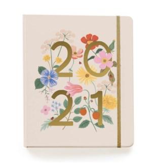 2021 Wild Garden Covered Planner Calendar