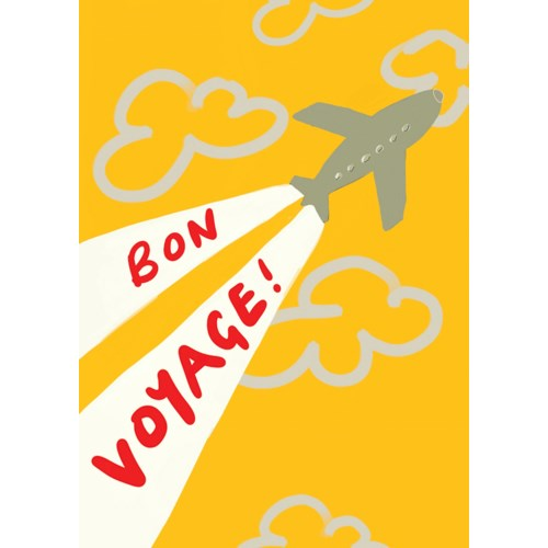 Bon Voyage 5x7|Poet & Painter