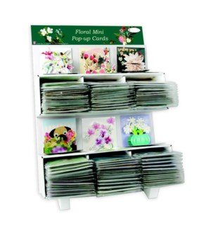 Trinkets Mini Pop-Up Cards - Floral Theme