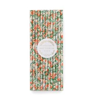 Wildflower Paper Straws